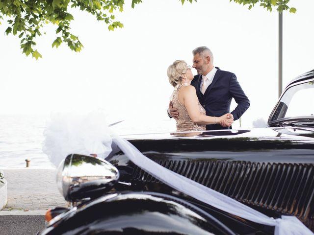 Il matrimonio di Roberto e Laura a Costermano, Verona 81