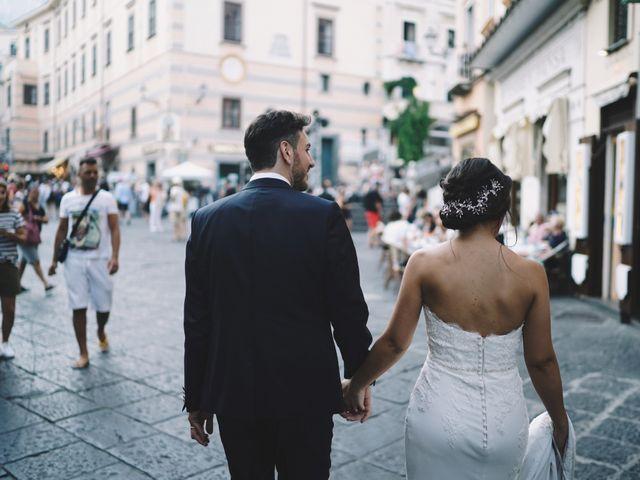 Il matrimonio di Francesco e Rosa a Amalfi, Salerno 9