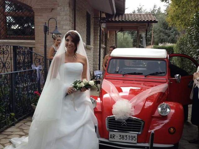 Il matrimonio di Fabrizio Giovannini e Valeria Santimone a Assisi, Perugia 4