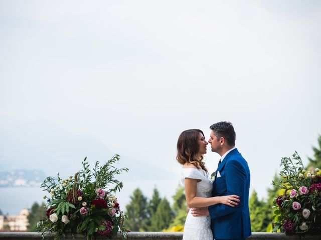Le nozze di Jelena e Lukas