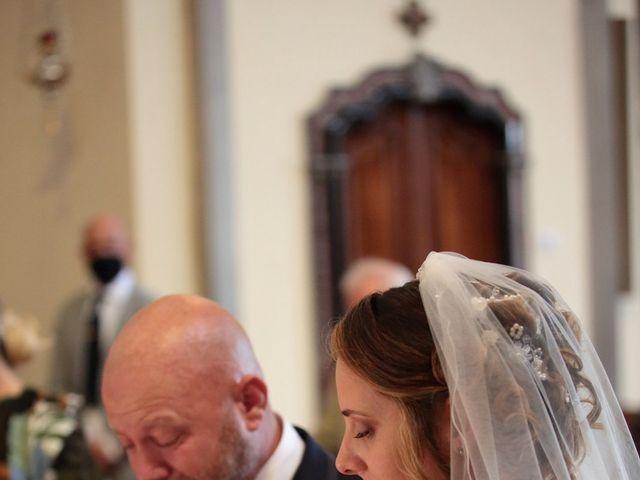 Il matrimonio di Michele e Marika a Montevecchia, Lecco 46