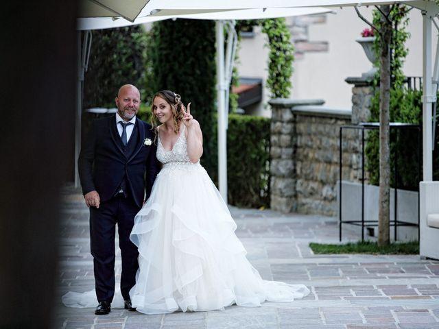 Il matrimonio di Michele e Marika a Montevecchia, Lecco 116
