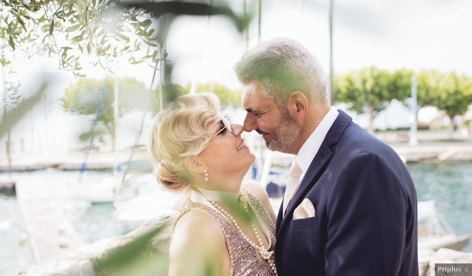 Il matrimonio di Roberto e Laura a Costermano, Verona