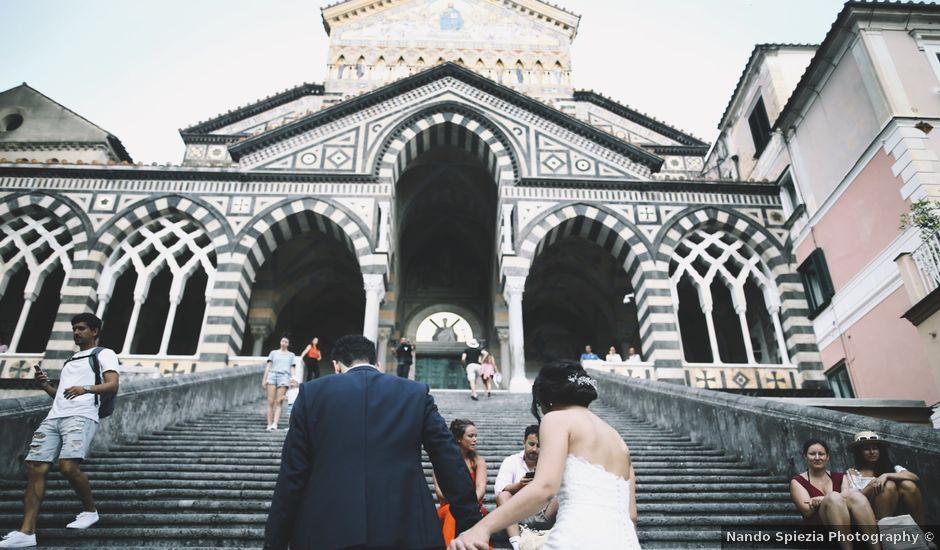 Il matrimonio di Francesco e Rosa a Amalfi, Salerno