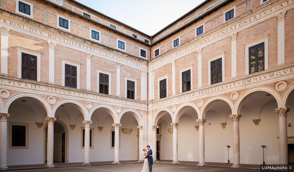 Il matrimonio di Matteo e Federica a Urbino, Pesaro - Urbino