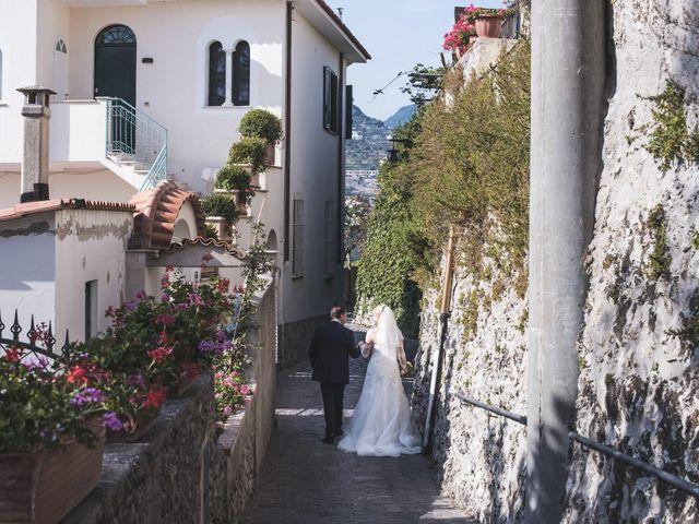 Il matrimonio di Giovanni e Viktoria a Amalfi, Salerno 4