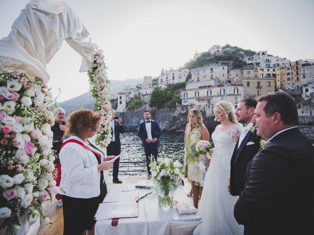 Il matrimonio di Giovanni e Viktoria a Amalfi, Salerno 6