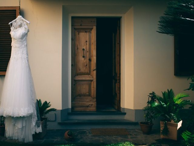 Il matrimonio di Mirko e Elisa a Carmignano, Prato 4