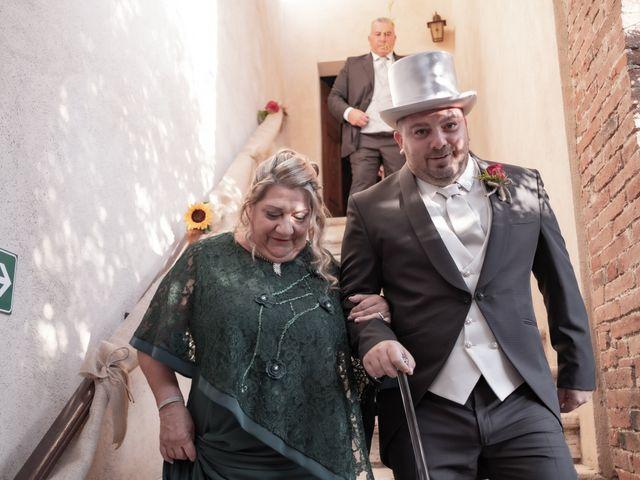 Il matrimonio di Andrea e Irene a Monticiano, Siena 6