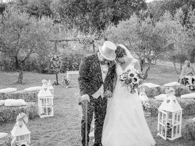 Il matrimonio di Andrea e Irene a Monticiano, Siena 8