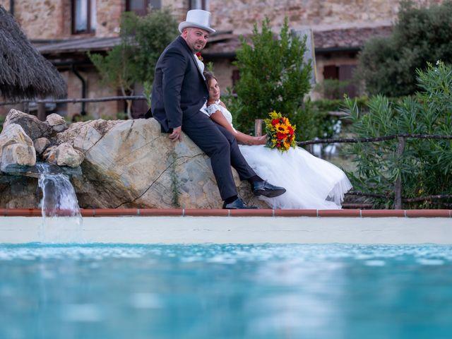 Il matrimonio di Andrea e Irene a Monticiano, Siena 11