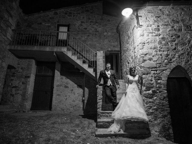 Il matrimonio di Andrea e Irene a Monticiano, Siena 13