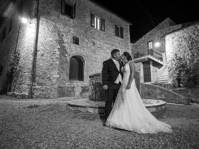 Il matrimonio di Andrea e Irene a Monticiano, Siena 14