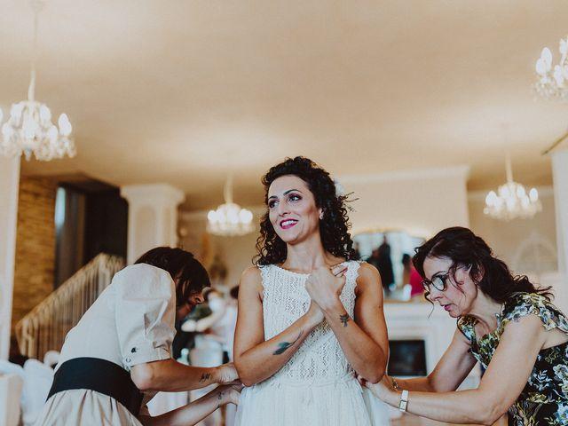 Il matrimonio di Seila e Giacomo a Mogliano, Macerata 11