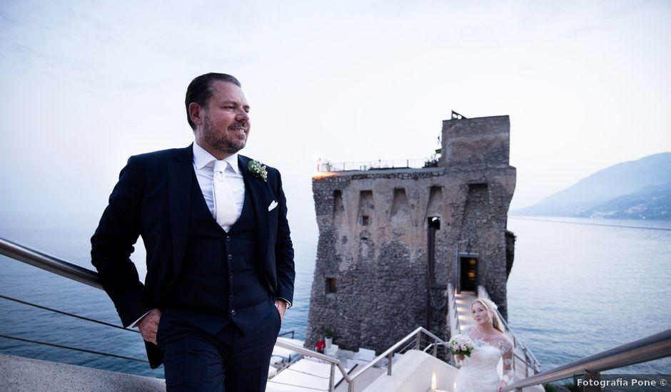 Il matrimonio di Giovanni e Viktoria a Amalfi, Salerno