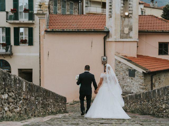 Il matrimonio di Mirko e Fabiana a Ventimiglia, Imperia 34