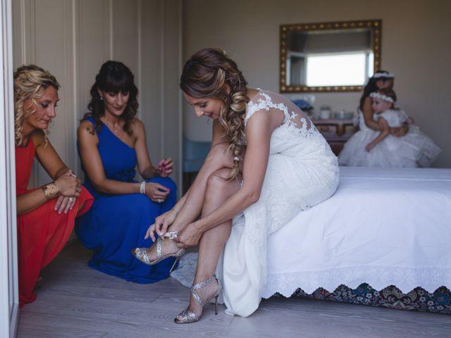 Il matrimonio di Fabio e Elena a San Clemente, Rimini 12