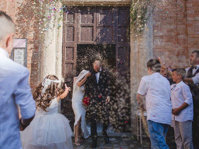 Il matrimonio di Fabio e Elena a San Clemente, Rimini 22
