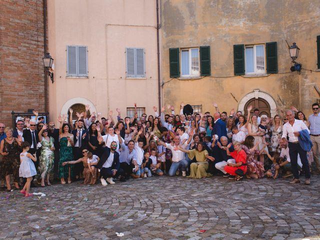 Il matrimonio di Fabio e Elena a San Clemente, Rimini 25