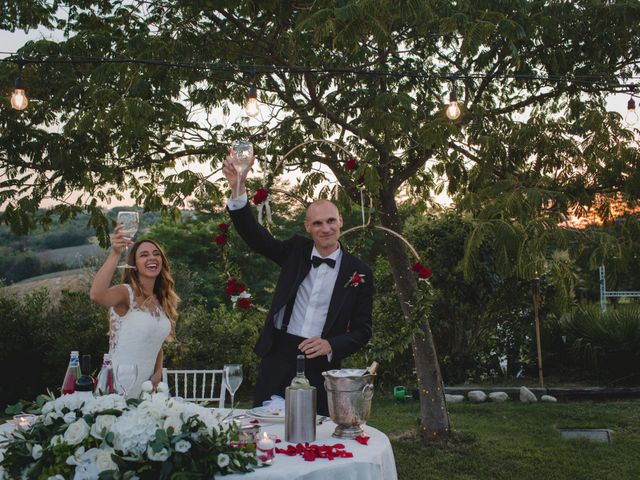 Il matrimonio di Fabio e Elena a San Clemente, Rimini 43