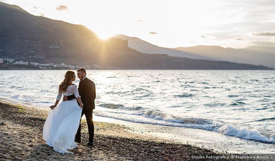Il matrimonio di Andrea e Maria a Alcamo, Trapani