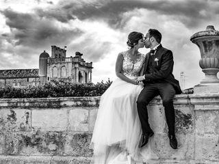 Le nozze di Carmelo e Romina