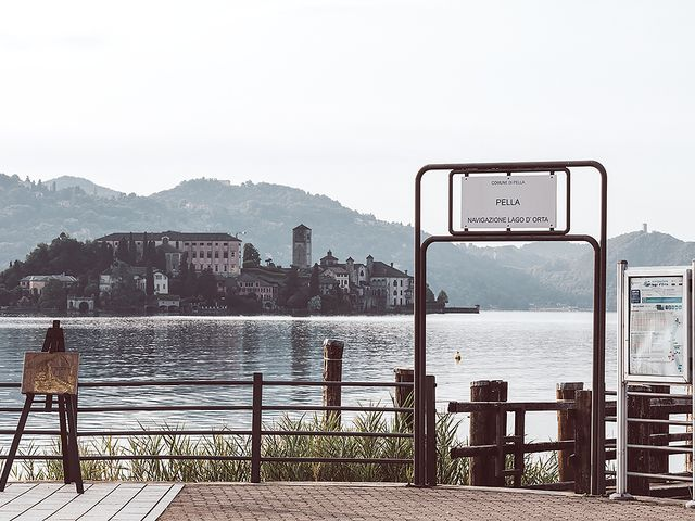 Il matrimonio di Julien e Laura a Pella, Novara 5
