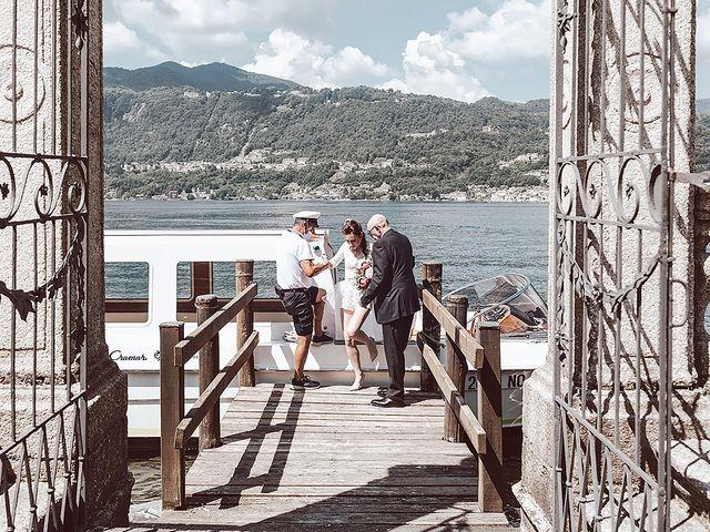 Il matrimonio di Julien e Laura a Pella, Novara 34