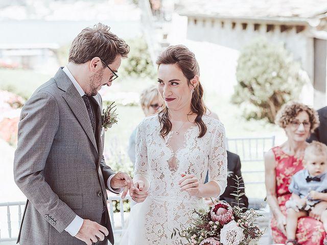 Il matrimonio di Julien e Laura a Pella, Novara 44