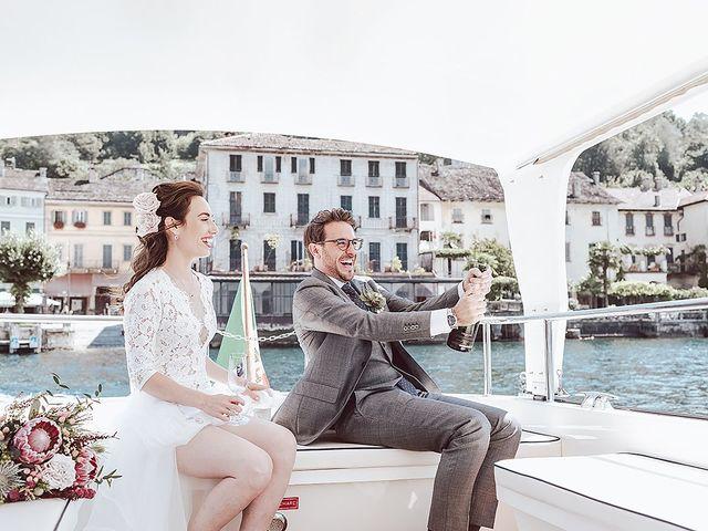 Il matrimonio di Julien e Laura a Pella, Novara 48