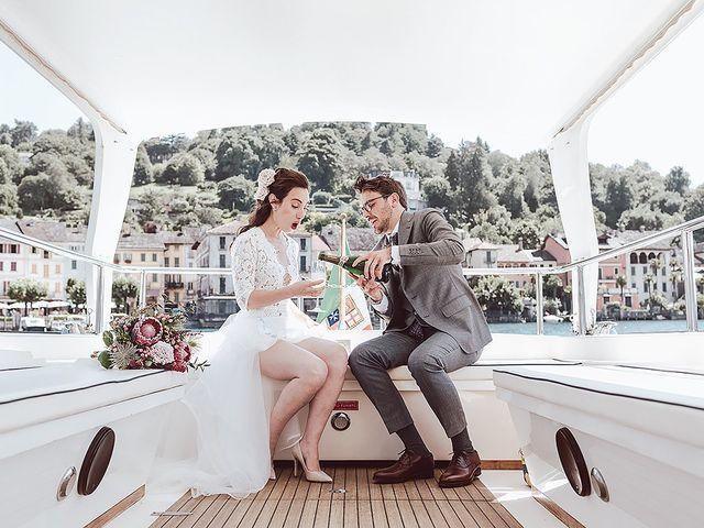 Il matrimonio di Julien e Laura a Pella, Novara 49