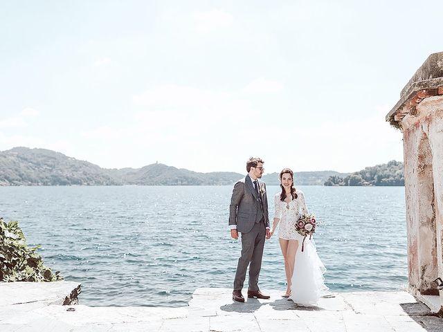 Il matrimonio di Julien e Laura a Pella, Novara 56