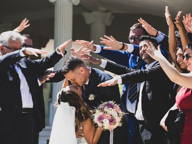 Il matrimonio di Simone e Debora a Roma, Roma 1
