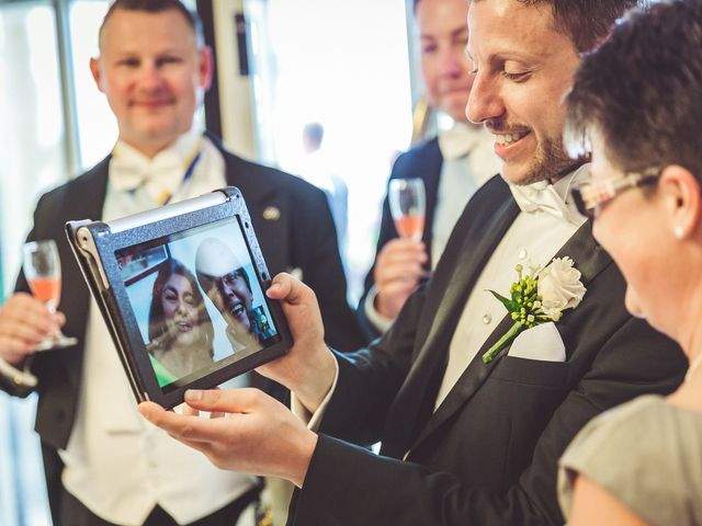 Il matrimonio di Christiane e Stefano a Bolsena, Viterbo 20