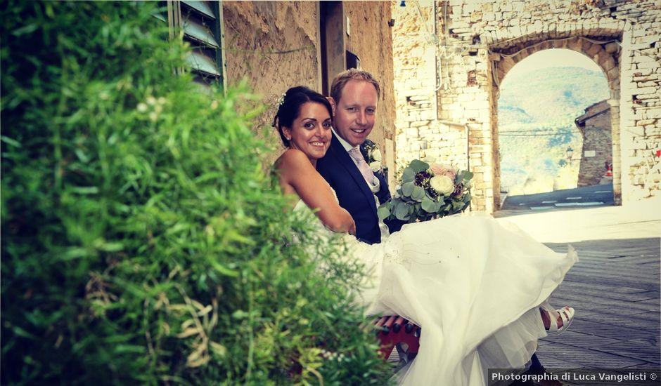 Il matrimonio di Chris e Valeria a Campiglia Marittima, Livorno