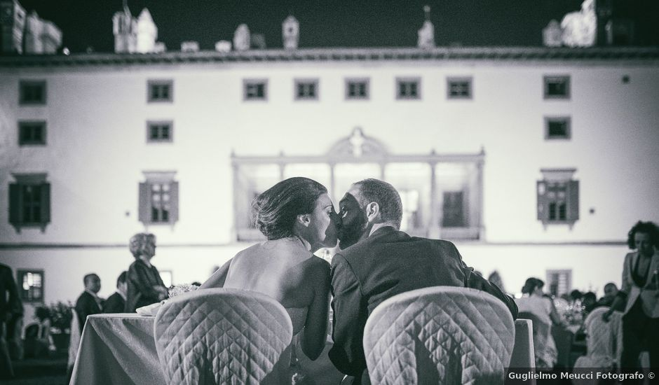 Il matrimonio di Francesco e Martina a Carmignano, Prato