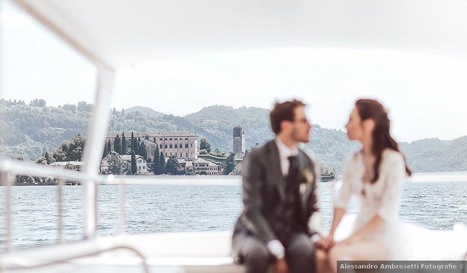 Il matrimonio di Julien e Laura a Pella, Novara