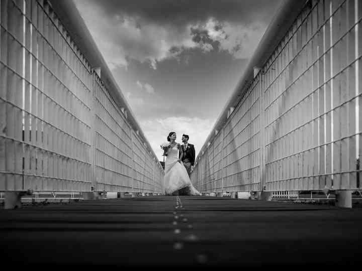 le nozze di Serena e Juri