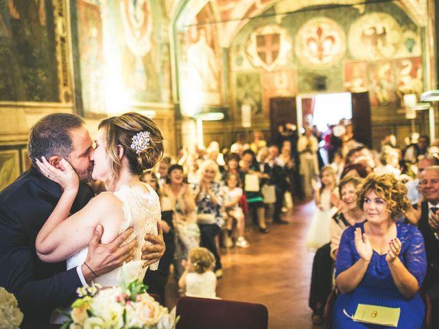 Il matrimonio di Andrea e Laura a San Miniato, Pisa 1