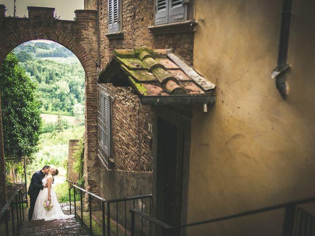 Il matrimonio di Andrea e Laura a San Miniato, Pisa 11