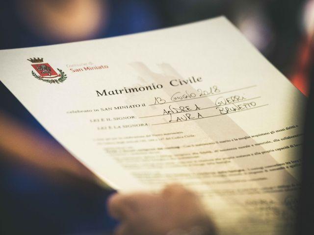 Il matrimonio di Andrea e Laura a San Miniato, Pisa 82