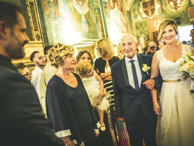 Il matrimonio di Andrea e Laura a San Miniato, Pisa 99