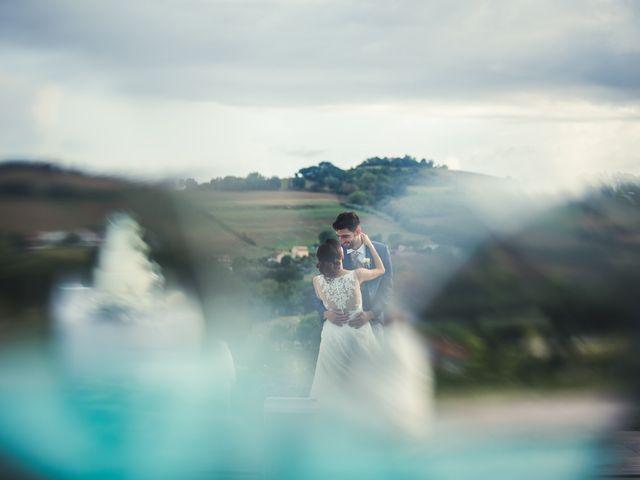 Il matrimonio di Juri e Serena a Polverigi, Ancona 26