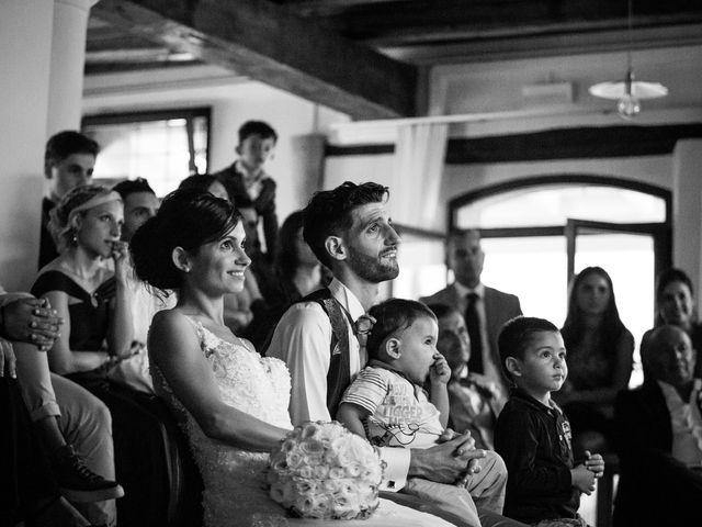 Il matrimonio di Juri e Serena a Polverigi, Ancona 28