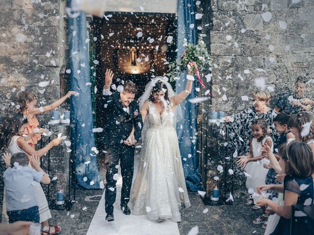 Il matrimonio di Michael e Francesca a Fivizzano, Massa Carrara 9