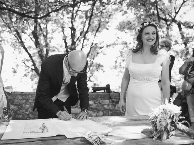 Il matrimonio di Massimo e Laura a Carmignano, Prato 28