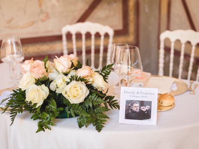 Il matrimonio di Davide e Federica a Robecco sul Naviglio, Milano 49