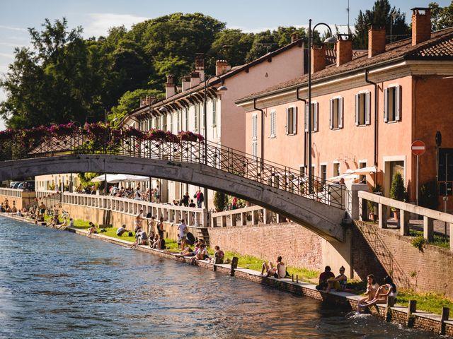 Il matrimonio di Davide e Federica a Robecco sul Naviglio, Milano 68
