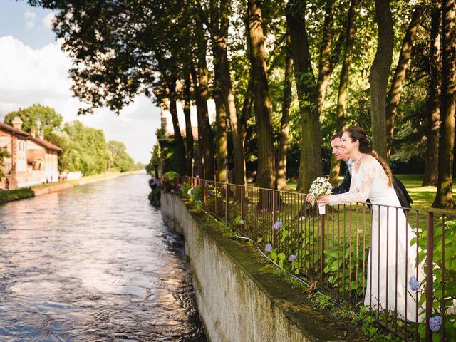 Il matrimonio di Davide e Federica a Robecco sul Naviglio, Milano 75