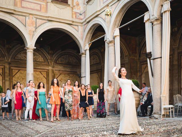 Il matrimonio di Davide e Federica a Robecco sul Naviglio, Milano 85